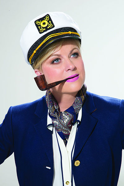 Amy Poehler, O Captain! my Captain!